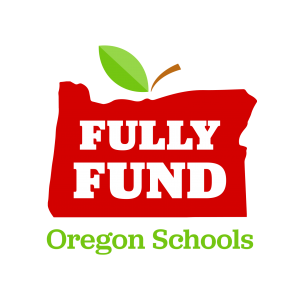 Fully Fund Oregon Schools' logo